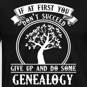 Genealogy Tee Shirt - Men's Premium T-Shirt