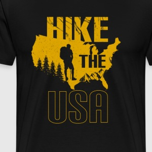 Hike The Us - Men's Premium T-Shirt