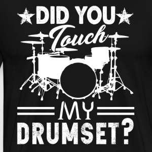 Drum Set Tee Shirt - Men's Premium T-Shirt