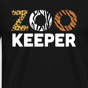 Zoo Keeper - Men's Premium T-Shirt