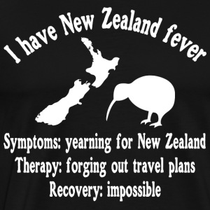 I have New Zealand fever - traveling - Men's Premium T-Shirt