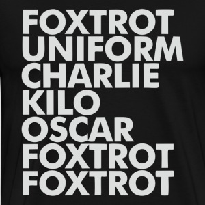Foxtrot - Men's Premium T-Shirt