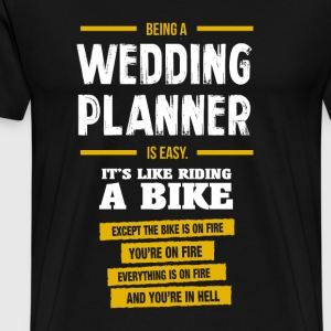 wedding planer - Men's Premium T-Shirt
