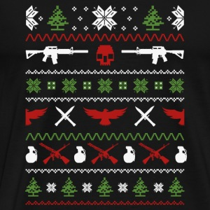 Military-Military guns awesome christmas sweater