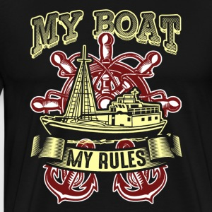 MY BOAT MY RULES SHIRT - Men's Premium T-Shirt