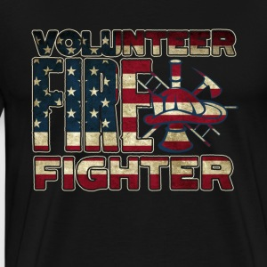 VOLUNTEER FIREFIGHTER SHIRT - Men's Premium T-Shirt