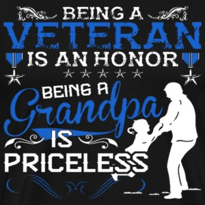 Veteran Grandpa - Men's Premium T-Shirt