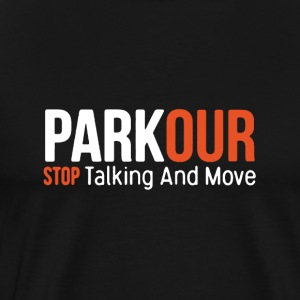Parkour T Shirt - Men's Premium T-Shirt