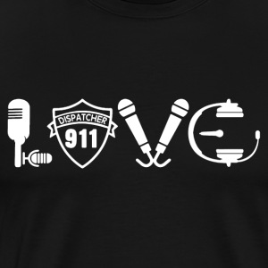 Love 911 Dispatcher Shirt - Men's Premium T-Shirt