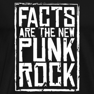 FACTS ARE THE NEW PUNK ROCK haz d mujica - Men's Premium T-Shirt