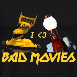 I Love Bad Movies - Mystery Science Theater 3000 - Men's Premium T-Shirt