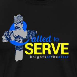 Called to Serve: Knights of the altar - Men's Premium T-Shirt