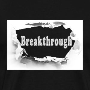 Breakthrough_white - Men's Premium T-Shirt