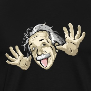 Funny Einstein - Men's Premium T-Shirt