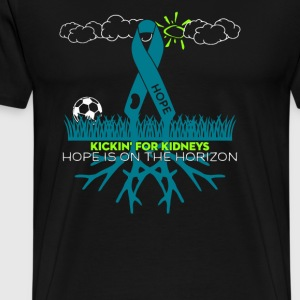 Kickin For Kidneys - Men's Premium T-Shirt