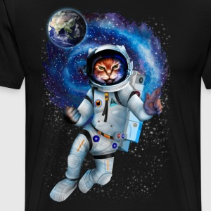 Astronaut cat TSHIRT - Men's Premium T-Shirt