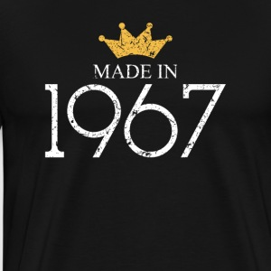 Made In 1967 50 Years Being Awesome - Men's Premium T-Shirt
