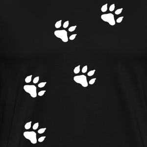 Paw Prints - Men's Premium T-Shirt