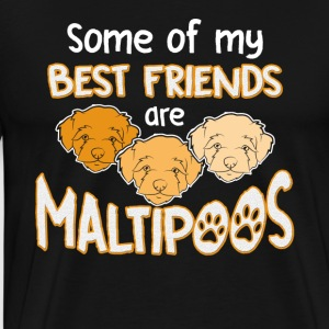 Maltipoo Best Friends Shirt - Men's Premium T-Shirt