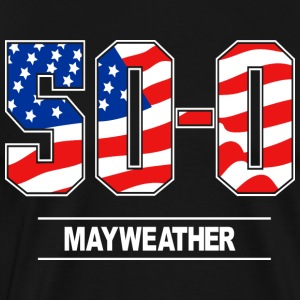 50-0 mayweather - Men's Premium T-Shirt