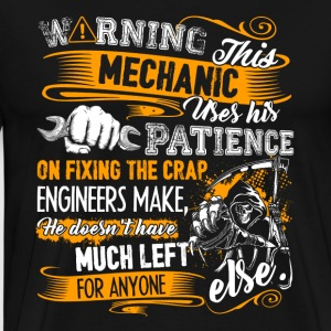 Mechanic Warning Shirt - Men's Premium T-Shirt