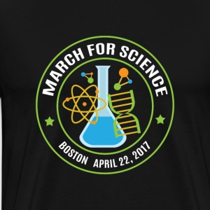 March for Science Boston - Men's Premium T-Shirt