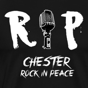 RIP Chester Bennington - Men's Premium T-Shirt