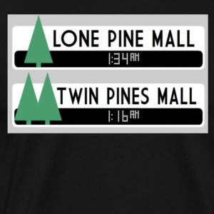 LONE PINE MALL / TWIN PINES MALL T-SHIRT PARADOX - Men's Premium T-Shirt