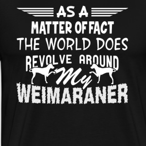 WEIMARANER DESIGNS SHIRT - Men's Premium T-Shirt