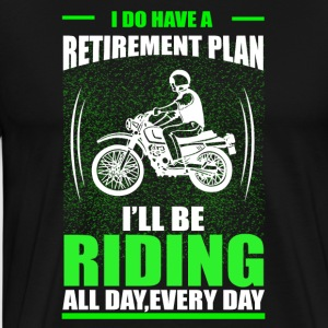 Motorbike Retirement - Men's Premium T-Shirt