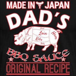 Made In Japan Dads BBQ Sauce Original Recipe - Men's Premium T-Shirt