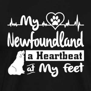 Newfoundland Dog T Shirt - Men's Premium T-Shirt