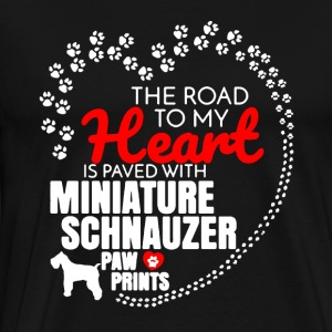 Miniature Schnauzer Dog Shirt - Men's Premium T-Shirt