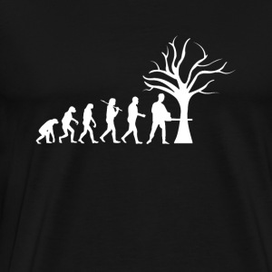 Ranger Tshirt present Wood Evolution - Men's Premium T-Shirt