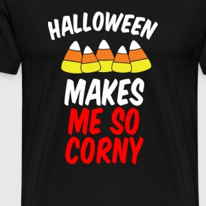 Halloween Makes Me So Corny - Men's Premium T-Shirt