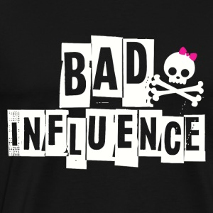 BAD INFLUENCE - PUNKY - Men's Premium T-Shirt