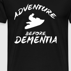 Adventure Before Dementia Jet Ski - Men's Premium T-Shirt