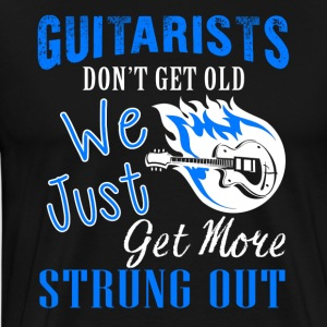 Guitarists Don't Get Old Shirt - Men's Premium T-Shirt