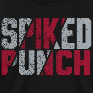 Volleyball Team Spiked Punch Design by CW Design - Men's Premium T-Shirt