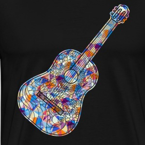 Acoustic Guitar Tee Shirt - Men's Premium T-Shirt