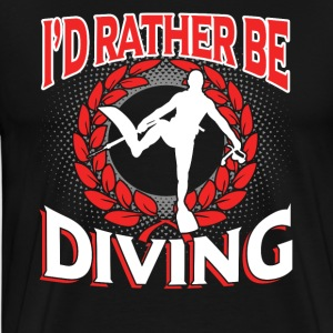 Diving Tee Shirt - Men's Premium T-Shirt
