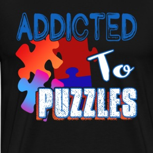 ADDICTED TO PUZZLE SHIRT - Men's Premium T-Shirt
