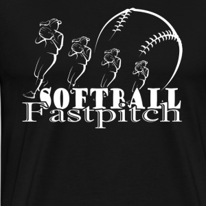 FASTPITCH SOFTBALL SHIRT - Men's Premium T-Shirt