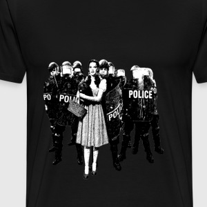 Dorothy and the Riot police - Men's Premium T-Shirt