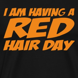 RED GINGER HAIR DAY - Men's Premium T-Shirt