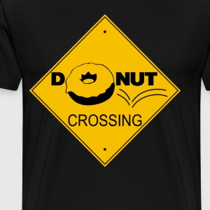 Donut Crossing - Men's Premium T-Shirt