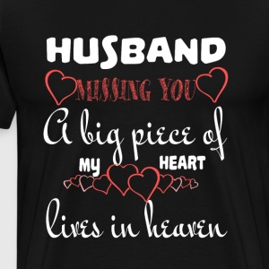 Husband Missing You T Shirt - Men's Premium T-Shirt