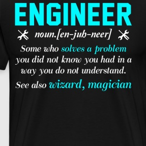 Engineer T Shirt - Men's Premium T-Shirt