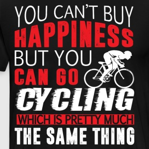You Can Go Cycling T Shirt - Men's Premium T-Shirt