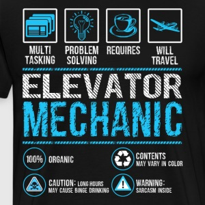 Elevator Mechanic Shirt - Men's Premium T-Shirt